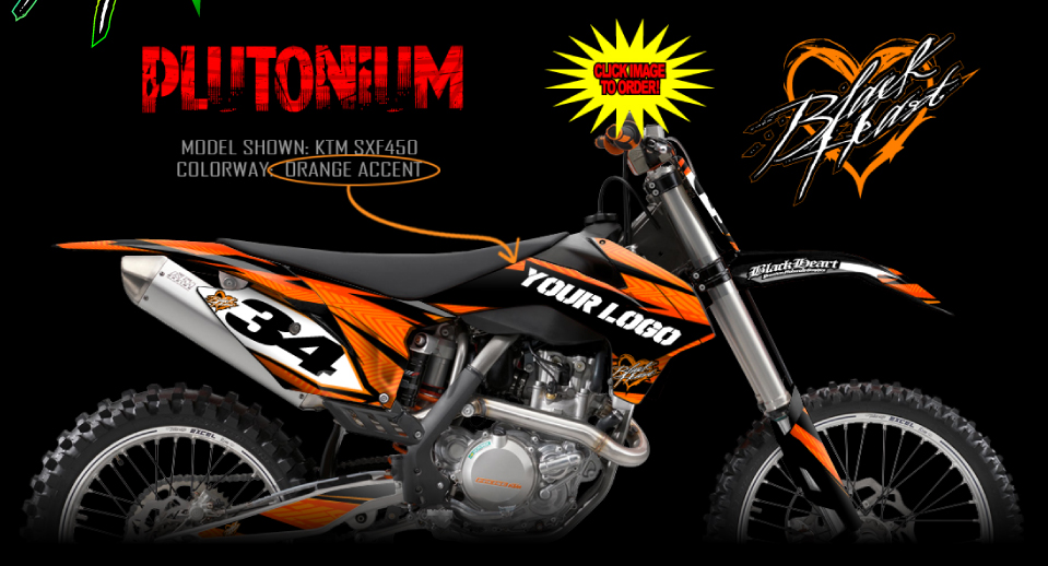 Ktm Full Graphics Kits