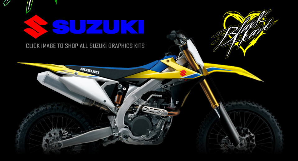 Black Heart MX - The World's Best Motocross Graphics Kits