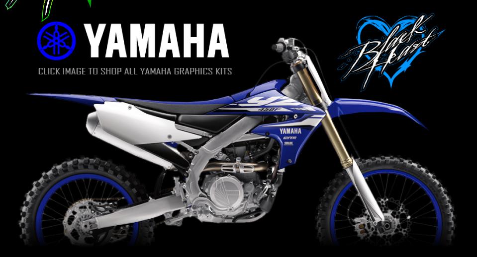 black heart mx the world s best motocross graphics kits